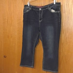💟Hydraulic bootcut jeans